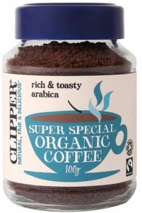 Clipper Organic Medium Roast Arabica Coffee 100gm
