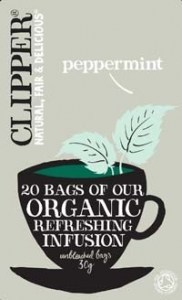 Clipper Organic Peppermint Infusion 20 Teabags