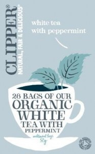 Clipper Organic White Tea with Peppermint 26 Teabags