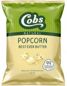 Cobs Americana Natural Chicago Mix Popcorn  12x175g