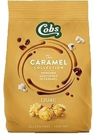 Cobs Caramel Popcorn  8x125g