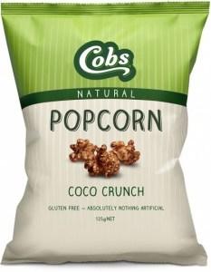 Cobs Natural Coco Crunch Popcorn  12x125g