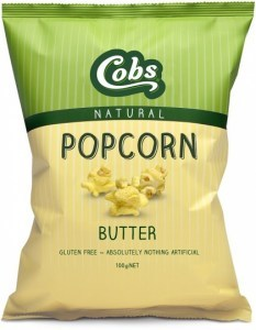 Cobs Natural Popcorn Best Ever Butter  12x100g