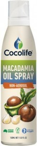 Cocolife Macadamia Oil Spray Non-Aerosol  150ml