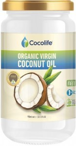 Cocolife Organic Virgin Coconut Oil 950ml