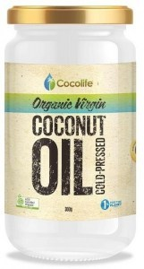 Cocolife Premium Certified Organic Virgin Coconut Oil 350ml