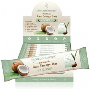 Coconut Magic Raw Energy Bars Coconut (36x22g)