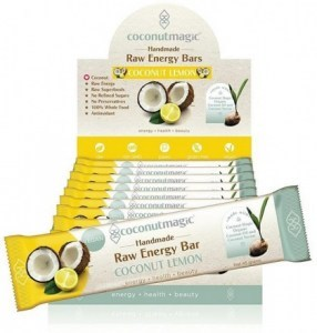 Coconut Magic Raw Energy Bars Coconut Lemon  12x45g