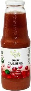 Complete Health Organic Cranberry 100% Juice 1L