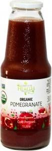 Complete Health Organic Pomegranate 100% Juice 1L