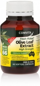 Comvita Fresh-Picked Olive Leaf Extract - High Strength Softgel Capsules  60s