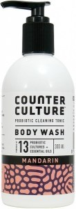 Counter Culture Probiotic Body Wash Mandarin 300ml