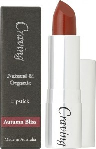 Craving Natural & Organic Autumn Bliss Lipstick