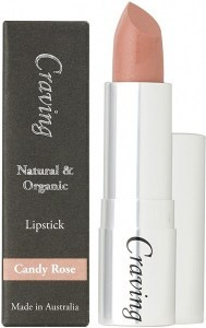 Craving Natural & Organic Candy Rose Lipstick