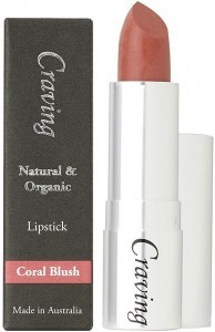 Craving Natural & Organic Coral Blush Lipstick