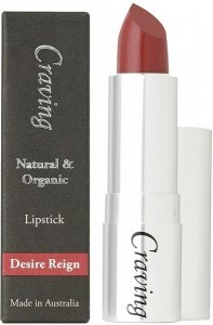 Craving Natural & Organic Desire Reign Lipstick