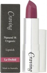 Craving Natural & Organic La Orchid Lipstick