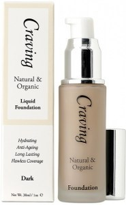 Craving Natural & Organic Liquid Foundation - Dark 30ml