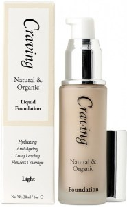 Craving Natural & Organic Liquid Foundation - Light 30ml