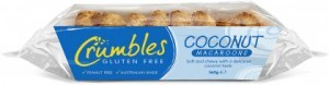 Crumbles Coconut Macaroons  Tray 160g