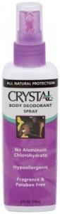 Crystal Deodorant Body Spray 118ml