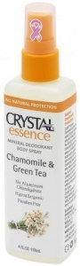 Crystal Essence Deodorant Chamomile & Green Tea Spray 118ml