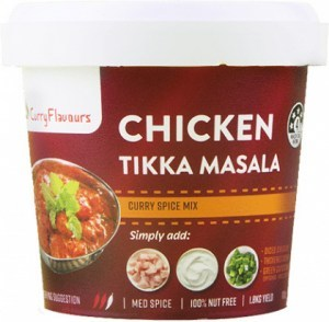 Curry Flavours Chicken Tikka Masala Curry Spice Mix Tub 100g