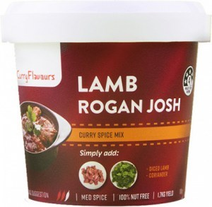 Curry Flavours Lamb Rogan Josh Curry Spice Mix Tub 100g