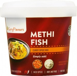 Curry Flavours Methi Fish Curry Spice Mix Tub 100g