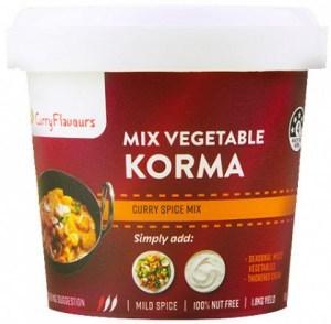 Curry Flavours Mix Veg Korma Curry 100g
