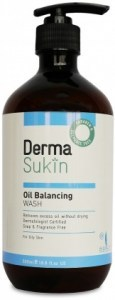 Derma Sukin Oil Balancing Wash Pump 500ml