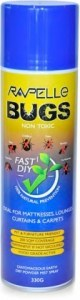 Rapelle Bugs Diatomaceous Earth Natural Bug Prevention Aerosol 330g