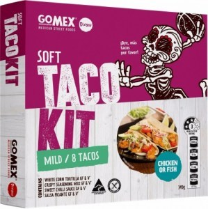 Diego's GoMex Soft Taco Kit  (Makes 8) 349g