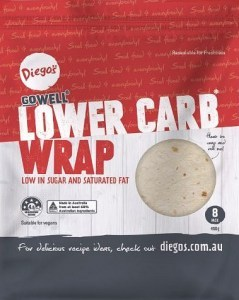 Diego's GoWell Lower Carb Wrap (12Pack) 400g