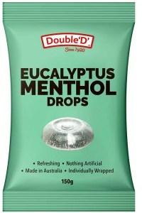 Double D Refreshing Eucalyptus Menthol Lozenges  150g
