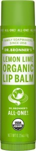 Dr Bronner's Lip Balm Lemon Lime 4g