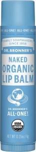 Dr Bronner's Lip Balm Naked  4g