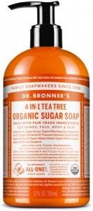Dr Bronner's Organic Pump Soap Tea Tree 355ml