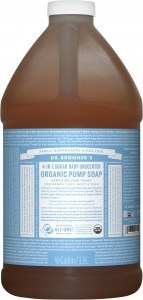 Dr Bronner's Organic Soap Baby Unscented 1.89L