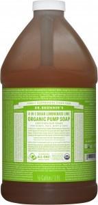 Dr Bronner's Organic Soap Lemongrass Lime 1.89L