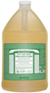Dr Bronner's Pure Castile Liquid Soap Almond 3.78L