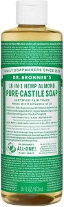 Dr Bronner's Pure Castile Liquid Soap Almond 473ml