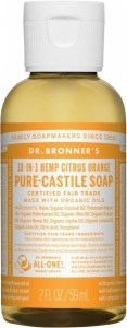 Dr Bronner's Pure Castile Liquid Soap Citrus 59ml