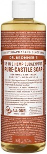 Dr Bronner's Pure Castile Liquid Soap Eucalyptus 473ml
