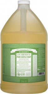 Dr Bronner's Pure Castile Liquid Soap Green Tea 3.78L