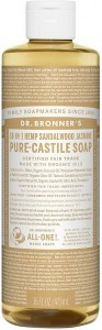 Dr Bronner's Pure Castile Liquid Soap Sandalwood Jasmine 473ml