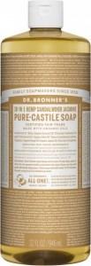 Dr Bronner's Pure Castile Liquid Soap Sandalwood Jasmine 946ml