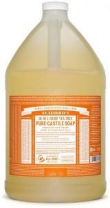 Dr Bronner's Pure Castile Liquid Soap Tea Tree 3.78L