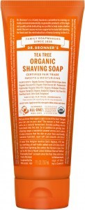 Dr Bronner's Shaving Soap Tea Tree 207ml
