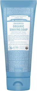 Dr Bronners Shaving Soap Unscented 207ml